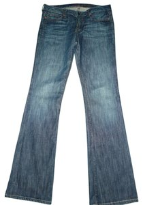 Chip and Pepper Vintage Distressed Extra Long Boot Cut Jeans-Distressed