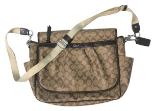 Coach Baby Tan/Brown Messenger Bag