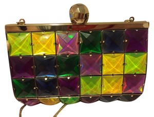 Kate Spade Anastasia Holiday Holiday Fun Hand Studded Christmas Party Holiday Party Christmas Multicolor Clutch