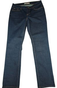 J Brand Dark Wash Straight Leg Jeans-Dark Rinse
