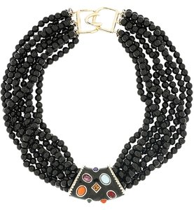 Kenneth Jay Lane Kenneth Jay Lane Choker with Jewel Accents