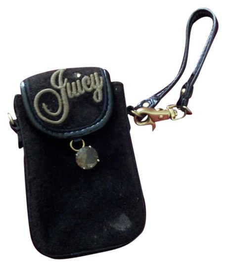 Juicy Couture Juicy Couture black ceelphone pouch