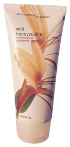 Bath and Body Works Wild Honeysuckle Shimmer Lotion