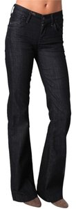 Citizens of Humanity Coh Hutton Wide Flare Leg Jeans-Dark Rinse