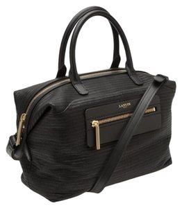 Lanvin Satchel Padam Cross Body Tote in Black