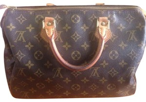 Louis Vuitton Speedy Satchel in Monogram Canvas
