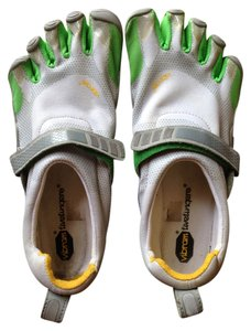 Vibram Silver and Green Athletic