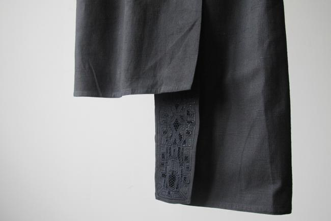 Other Embroidered Cotton Summer Spring Asymmetric Unique Stylish Date Night Avant Garde Christmas Gift Fall Skirt Black