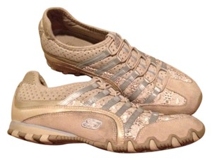 Skechers Light Beige And Blue Athletic