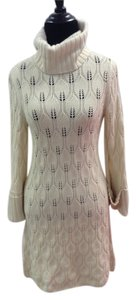 Alice + Olivia short dress Cream/Ivory Cashmere Wool Angora on Tradesy