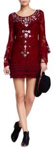 Free People Night Out Formal Semi Formal Boho Bohemian Dress