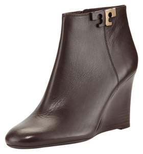 Tory Burch Leather Boot Bootie Fall Brown Boots