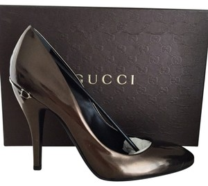 Gucci Brown, Olive, grey, Pumps