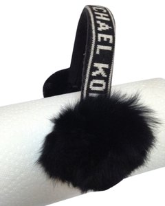 Michael Kors Earmuff, genuine rabbit fur.