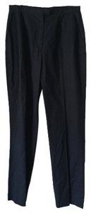 Michael Kors Straight Pants Navy blu