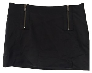 Elizabeth and James Mini Skirt Blac