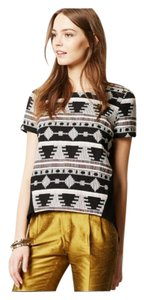 df1df805f8e49 ELLERY Anthro Anthropologie Tapestry Top Aztec