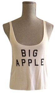 Brandy Melville Top Cream and black