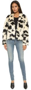 Tibi Cozy Faux Fur Fur Coat