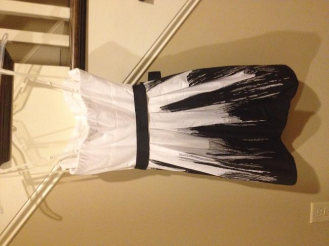 B. Darlin short dress Black/White on Tradesy