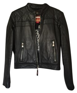 Levi's Blac Leather Jacket