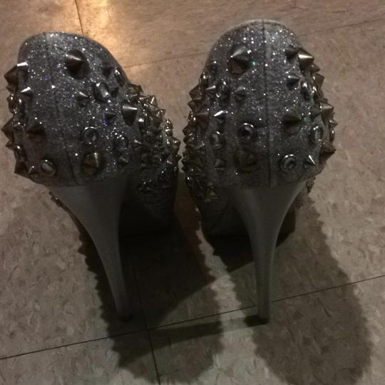 Other Silver, Studs Pumps
