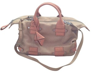 Allibelle Satchel in Nude/ Blush