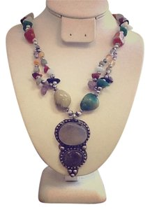 Ethnic Agate Necklace
