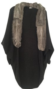 Joie Joie Sweater Coat with Fur