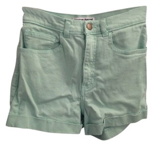 American Apparel Shorts Mint Green