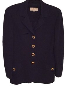 St. John Dark Navy Blazer