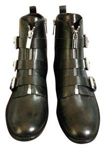 Michael Kors Leather Black Boots