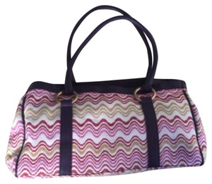 Missoni Tote in Pink, Red, Purple, Yellow