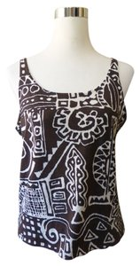 Chico's Floral Abstract Top
