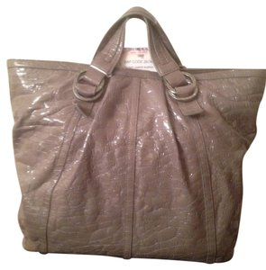 BVLGARI Tote in Broken Light Gray