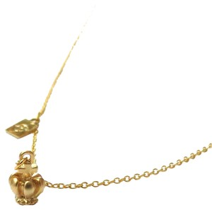 Elliot Francis Gold Crown necklace