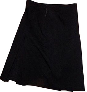 Express Dress Size 5/ Size 6 Size 5/6 Below Knee Long Cute Skirt BLACK