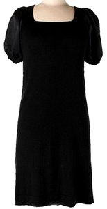 BCBGMAXAZRIA Silk Cashmere Shift Sheath Dress