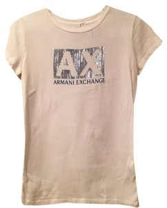 A|X Armani Exchange T Shirt White