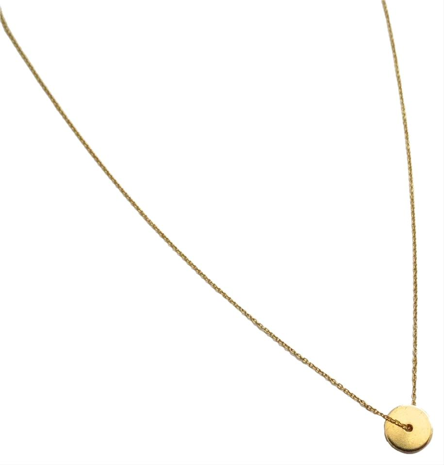 Elliot francis gold disc necklace tradesy elliot francis gold disc necklace aloadofball Gallery