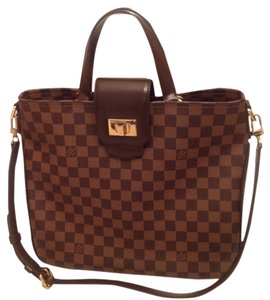 Louis Vuitton Cabas Rosbery Satchel in Brown