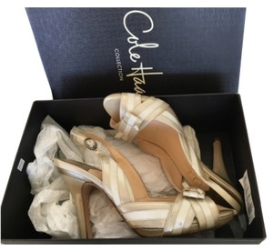 Cole Haan Champagne Platforms