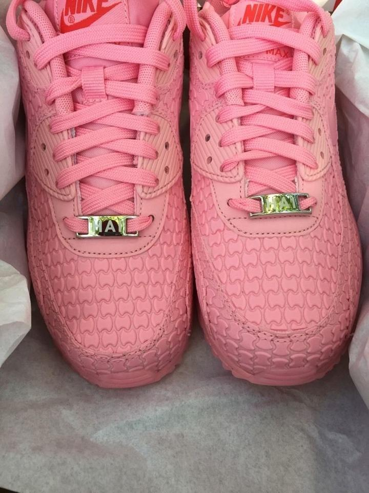 best sneakers ebfdd 2db64 Nike Pink New Womens Air Max 90 City Collection Shanghai Desert ...