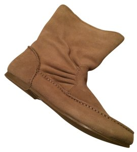 Lands' End New Shearling With Tags Sandstone Boots