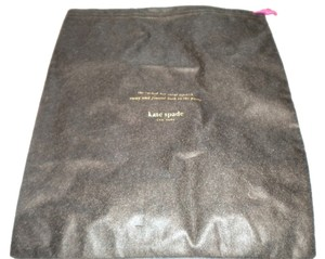 Kate Spade New Kate Spade Dust bag Brown with Gold Logo 14x 11 size