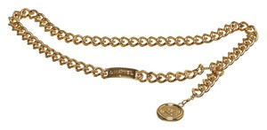 Chanel Chanel Gold Chain Rue Cambon Medallion 94P Belt
