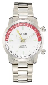 Jack Spade Clarkson Dual Time White Watch, 43mm GIFT FOR HIM
