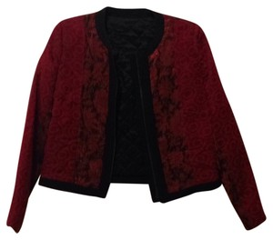 The Kooples Red and black Blazer
