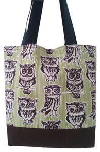 Other Owls Handmade Tote in brown