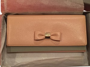 Mulberry NEW Mulberry Bow Long Continental Leather Wallet